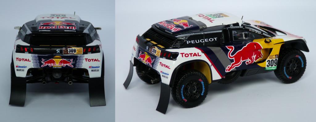 Peugeot 3008 DKR Loeb Dakar 2017 AR