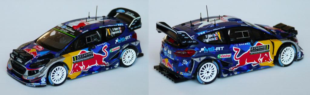 Fiesta WRC Monte Carlo 2017 Ogier