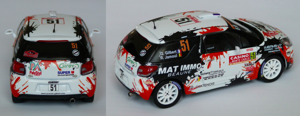 Citroen DS3 R3 MC 2014 Gilbert AR