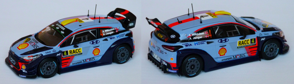Hyundai i20 WRC Milkkelsen RACC 2017