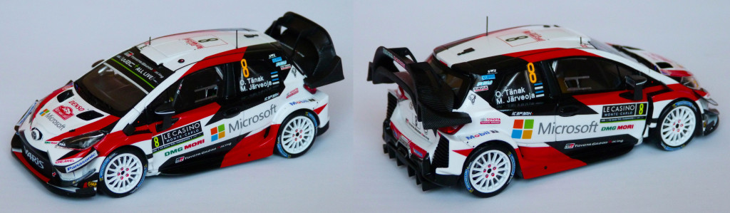 Toyota Yaris WRC Tanak MC 2018