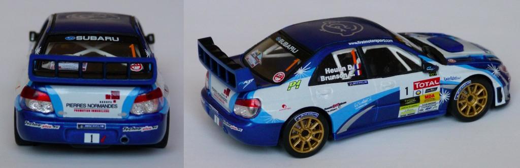 Subaru WRC Brunson Charbonniere 2013 AR