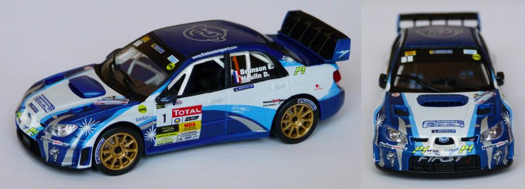 Subaru WRC Brunson Charbonniere 2013 AV