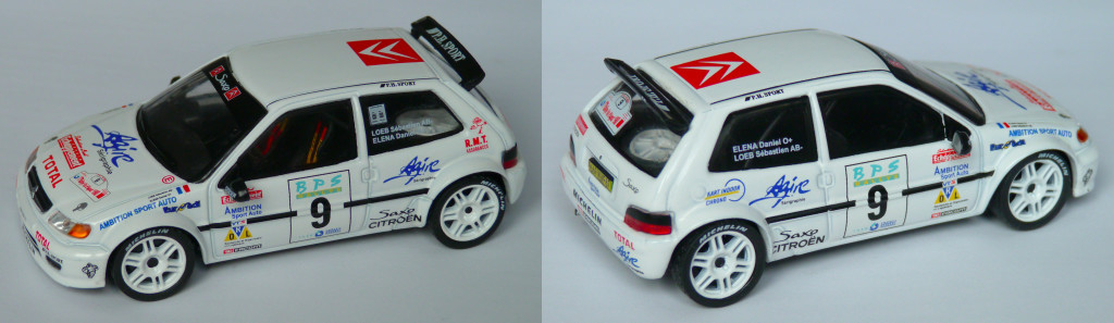Saxo Kit car loeb val d'agout 1998