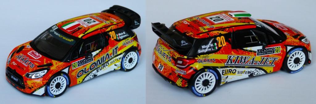 Ds3 WRC Miele MC 2019