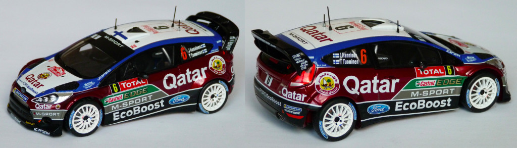 Fiesta RS WRC Hanninen MC 2013