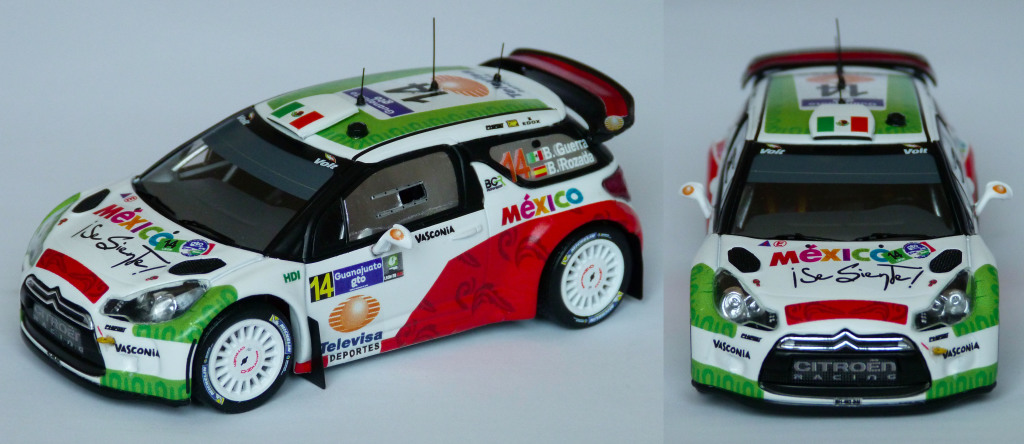 DS3 WRC Mexique 2013 Guerra AV