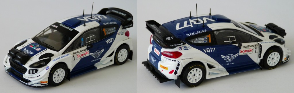 Fiesta WRC Arctic Lapland 2019 Bottas
