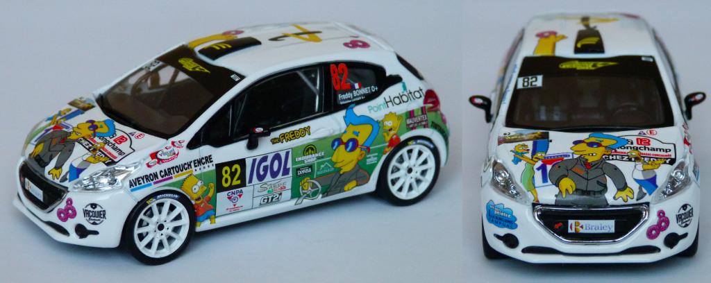 208 R2 Rallye rouergue 2019 Bonnet AV