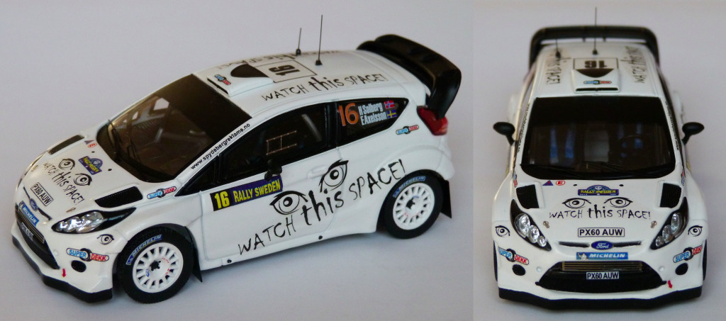 Fiesta WRC Suede 2013 Solberg AV