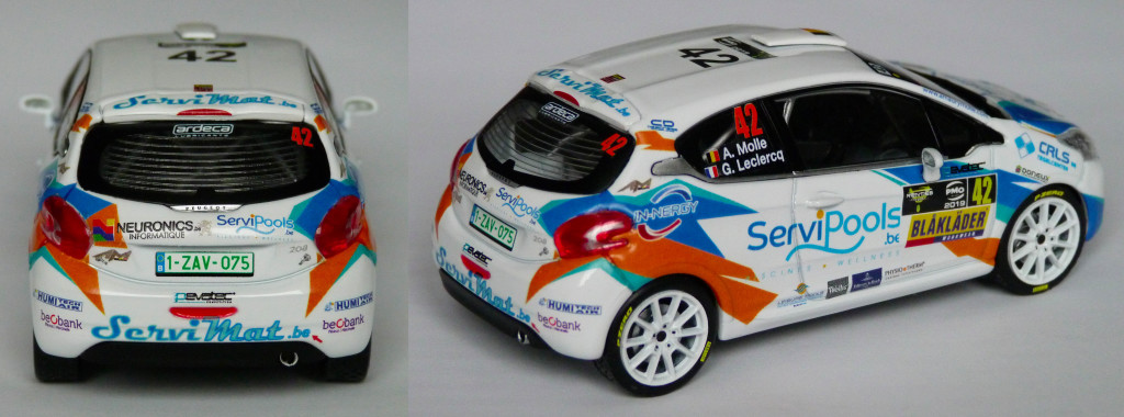 Peugeot 208 R2 Ypres 2019 Molle AR
