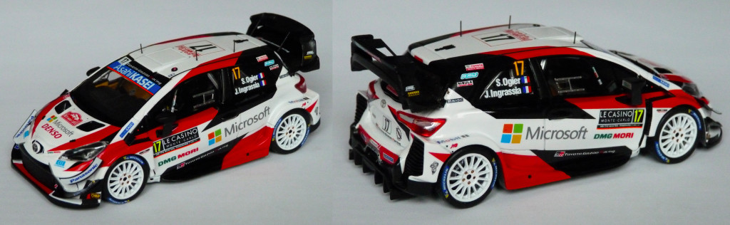 Yaris WRC MC 2020 Ogier