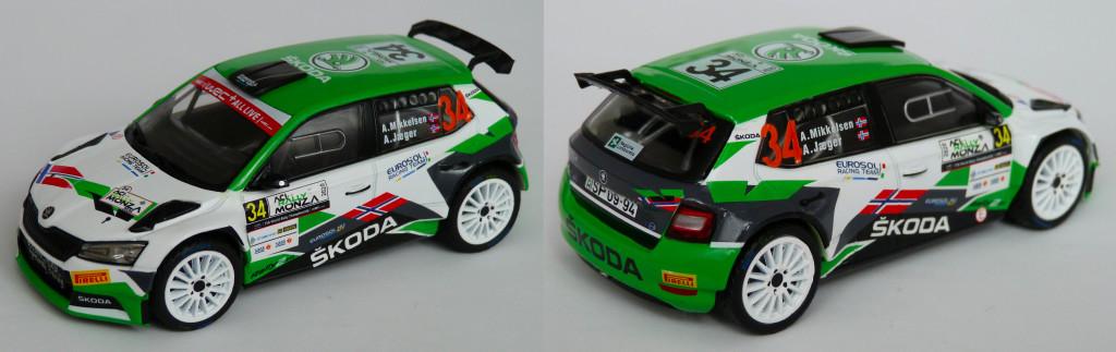 Skoda R5 evo Mikkelsen Monza 2020